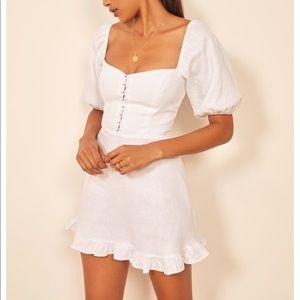 Reformation hampstead dress (White)